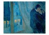 The Kiss, 1892 Giclee Print by Edvard Munch