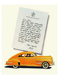 GM Oldsmobile-No Shift Driving Poster