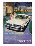GM Pontiac-Perfect Compliment Affiche
