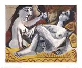 The Two Friends Pôsters por Pablo Picasso