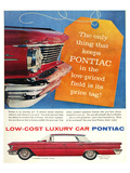 GM Pontiac - Low Cost Luxury Posters