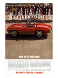 GM Corvette Hold Your Poise Affiches