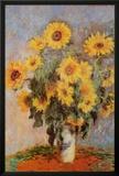 Sunflowers, c.1881 Prints by Claude Monet