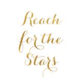 Reach for the Stars (gold foil) Láminas