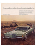 Lincoln 1969 Contntl. Mark III Posters