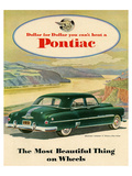 GM Pontiac-Chieftain 8 Deluxe Posters