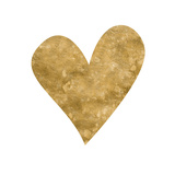 Romantic Icon III (gold foil) Posters