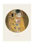 Old Masters, New Circles: The Kiss, c.1907 Reproduction procédé giclée par Gustav Klimt