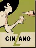 Cinzano - Citrus Trykk på strukket lerret av  The Vintage Collection