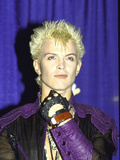 Musician Billy Idol Metalldrucke von David Mcgough
