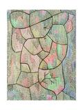 High Group, 1931 Art sur métal  par Paul Klee