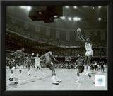 Michael Jordan winning basket in the NCU 1982 NCAA Finals against Georgetown Framed Photographic Print