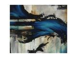Midnight Splash Metalldrucke von Rikki Drotar