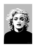Marilyn - Goodbye Norma Jean Metal Print by Emily Gray