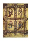 Book of Kells Metalldrucke