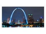 St. Louis Gateway Arch - Night Affiches