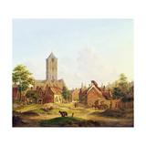 The Church of St. Jacobi, Utrecht Giclée-Druck von Jan Hendrik Verheyen