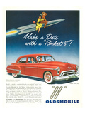 Oldsmobile-Date With Rocket 88 Art