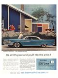 The Mighty Chrysler Dartline Kunstdrucke