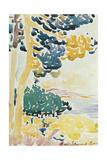 Pardigon Giclee Print by Henri-Edmond Cross