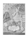 A Map of Tothill Fields, London, 1746 Giclee Print by John Rocque