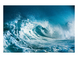 Ocean Wave Crushing Plakater