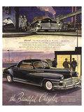 The Beautiful Chrysler - Black Poster