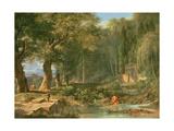 Classical Landscape Giclée-Druck von Pierre Henri de Valenciennes