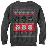 Crewneck Sweatshirt: Star Wars- Holiday Helmet Tシャツ