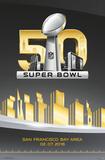 Super Bowl 50- Logo Pôsters