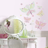 Waverly Butterfly Autocollant mural