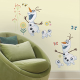 Disney Frozen Fever Olaf Wallstickers