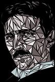 Nikola Tesla Kunstdrucke von Cristian Mielu