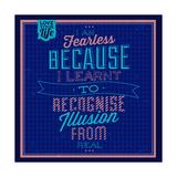 I'm Fearless 1 Poster di Lorand Okos
