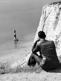 Beachy Head 1936 Reproduction photographique par Sunday Mirror