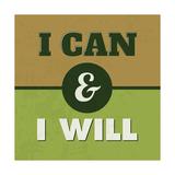 I Can and I Will 1 Láminas por Lorand Okos