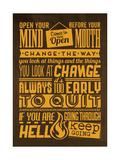 Action Set Yellow Poster di Lorand Okos