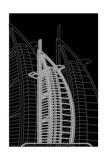Dubai Night Poster di Cristian Mielu