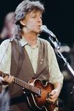 Paul Mccartney in Concert 1989 Photographic Print by Roger Allen