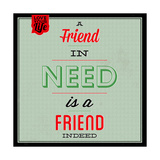 Friend Indeed 1 Láminas por Lorand Okos