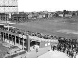 General View of the Oval Cricket Ground August 1947 Fotografisk trykk av  Staff
