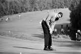 Golfer Charles Bob, 1968 Fotografisk tryk af Michael Brennan