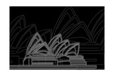 Sydney Night Stampe di Cristian Mielu