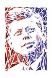 John F Kennedy Poster von Cristian Mielu