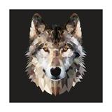 Woof Kunstdruck von Lora Kroll