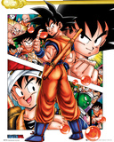 Dragonball- Goku Front And Center Kunstdrucke