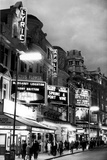 Theatre's of London's West End, 1967 Fotoprint van  Staff