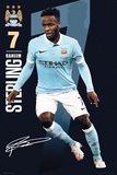 Man City- Sterling 15/16 Plakater
