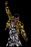Freddie Mercury Prints by Cristian Mielu
