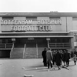 Tottenham Football Club, 1962 Fotografie-Druck von Monte Fresco O.B.E.